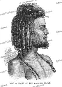 a man of the shoho tribe of abyssinia, the illustrated london news, 1868