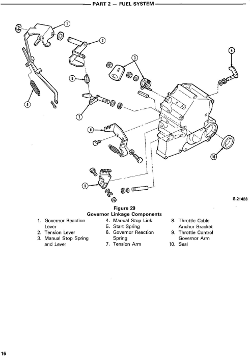 Fourth Additional product image for - Ford LGT14d Diesel Lawn and Garden Tractor Complete Service Manual (SE4570)