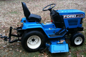 ford  lgt14d,  lgt16d diesel lawn and garden tractor with binder service manual