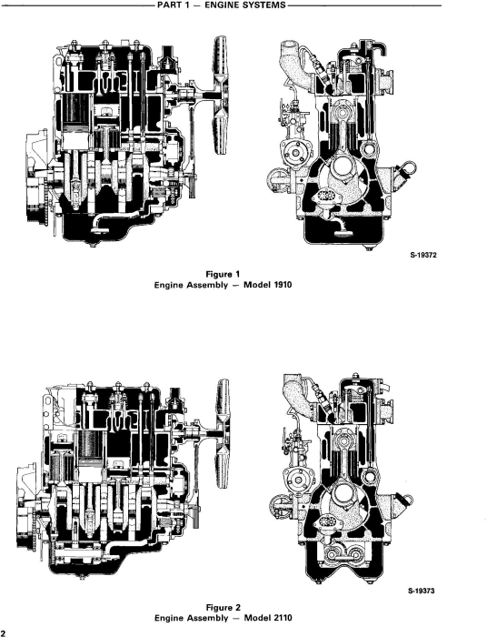 Second Additional product image for - Ford 1910, 2110 Tractor Service Repair Manual (SE4370)