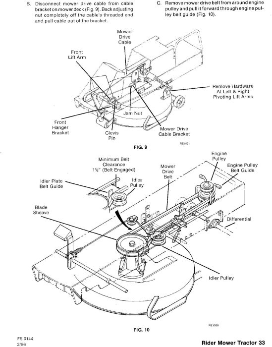 Third Additional product image for - Ford 09GN-2051/2052/2053 / 2054/2055/2056 Riding Mower Tractor Service Repair Manual (SE4363-4)