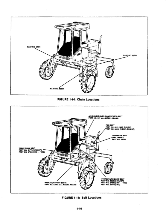 Second Additional product image for - Ford Versatile Swather 4400 Gas & Diesel Service Manual (V74799)