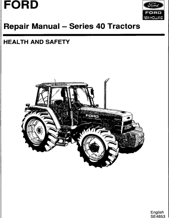 First Additional product image for - Ford 5640, 6640, 7740, 7840, 8240, 8340 /SL/SLE Series Tractors Complete Service Manual