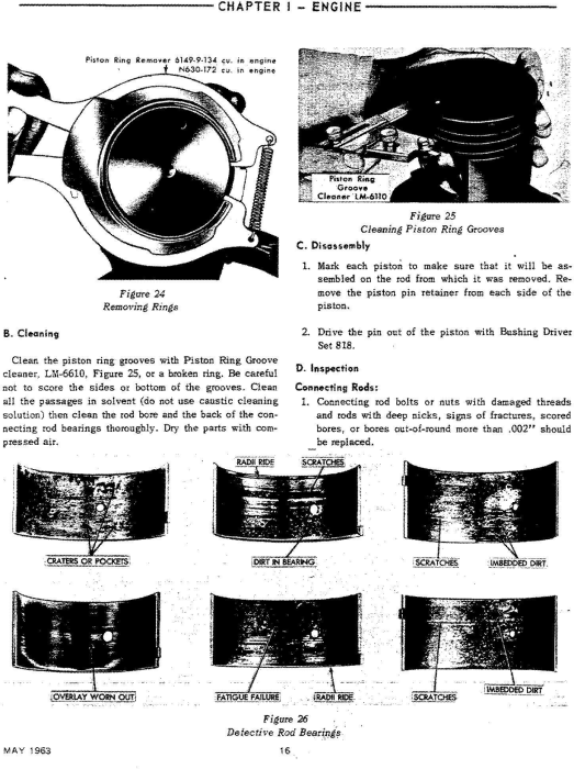 Third Additional product image for - Ford 6000 Tractor Workshop Service Manual (SE8799)