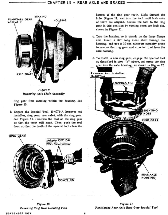 Fourth Additional product image for - Ford 6000 Tractor Workshop Service Manual (SE8799)