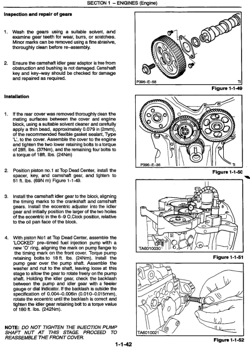 Third Additional product image for - New Holland / Ford 8160, 8260, 8360, 8560 Tractors Complete Service Manual
