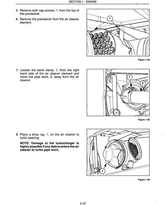 Second Additional product image for - Ford 9280, 9480, 9680, 9880, 9282, 9482, 9682, 9882 Tractor Complete Service Manual