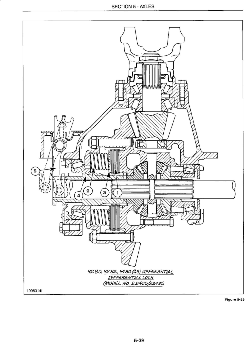 Third Additional product image for - Ford 9280, 9480, 9680, 9880, 9282, 9482, 9682, 9882 Tractor Complete Service Manual