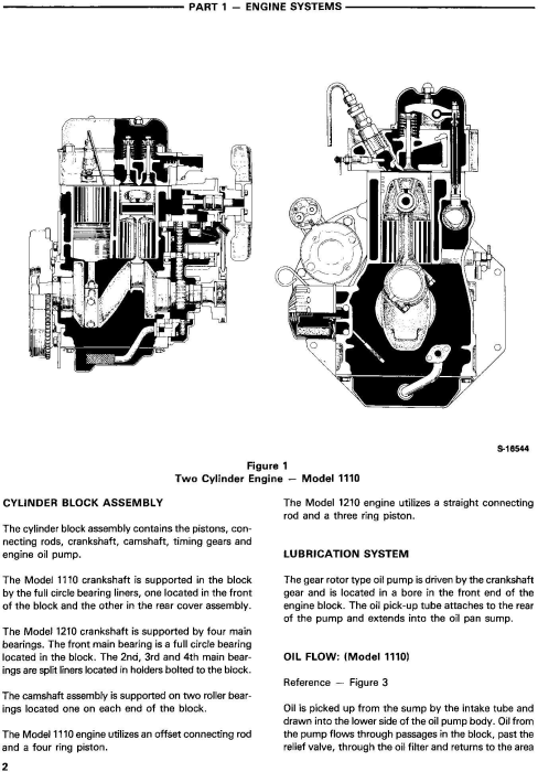 Second Additional product image for - Ford 1110, 1210 Tractor Service Manual (SE4300)