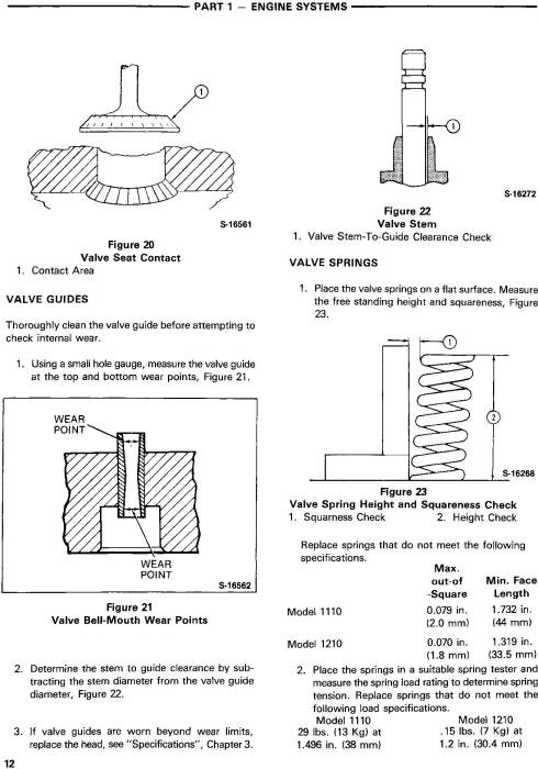 Fourth Additional product image for - Ford 1110, 1210 Tractor Service Manual (SE4300)