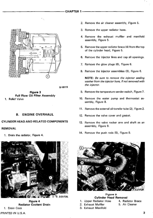 Second Additional product image for - Ford 1120, 1220, 1215 Tractors Service Manual (SE4601)