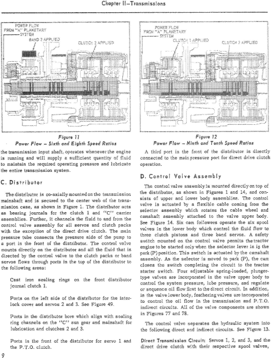Third Additional product image for - Ford 600,700,800,900, 501,601,701, 801,901, 1801, 2000, 4000 Tractor 1954-64 Service Manual (SE2175)