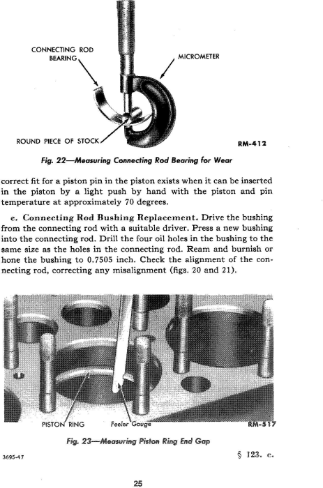 Third Additional product image for - Ford 9N 2N 8N Ford Tractor Service Manual