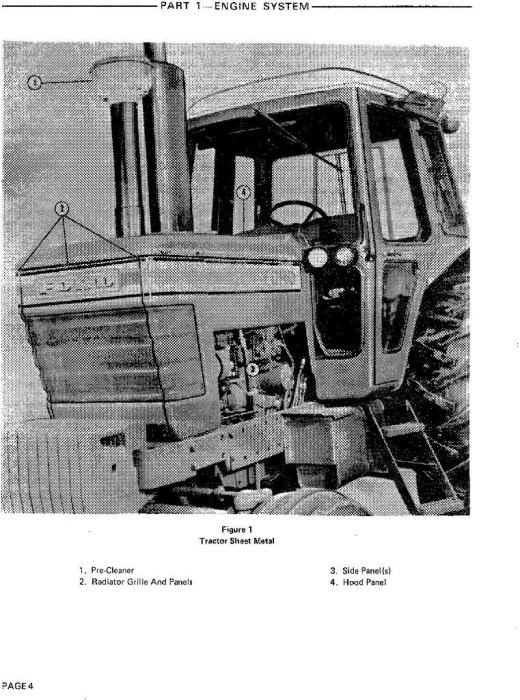 Second Additional product image for - Ford 8700, 9700 Tractor Service Repair Manual (SE3700)