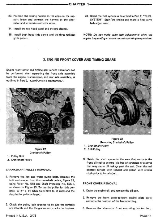 Third Additional product image for - Ford 8700, 9700 Tractor Service Repair Manual (SE3700)