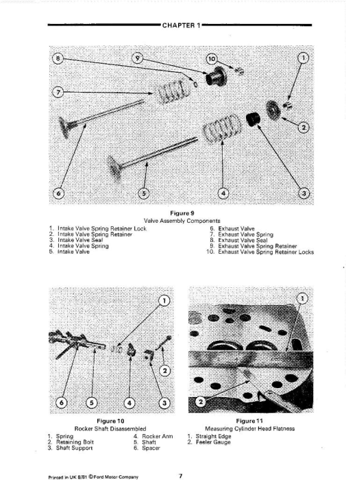 Second Additional product image for - Ford 2910, 3910, 4110, 4610, 5610, 6610, 6710, 7610, 7710, 8210 Tractors Service Manual
