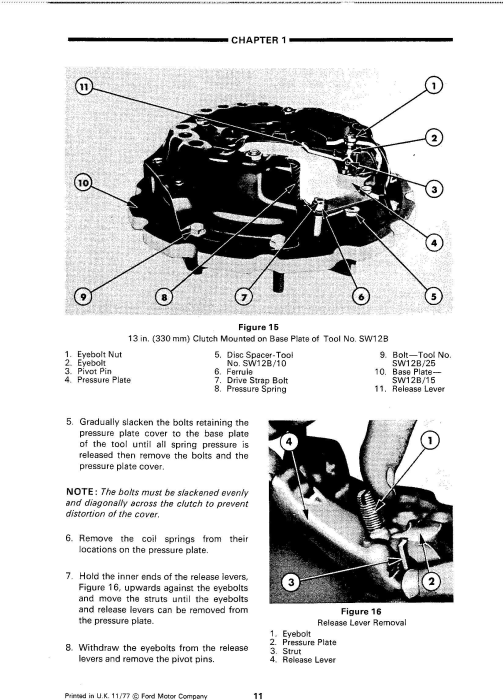 Fourth Additional product image for - Ford 2910, 3910, 4110, 4610, 5610, 6610, 6710, 7610, 7710, 8210 Tractors Service Manual
