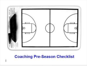 Ultimate Pre-season Checklist for Basketball Coaches | eBooks | Sports
