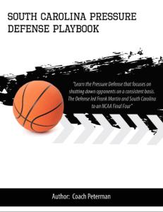 South Carolina Pressure Defense Playbook | eBooks | Sports