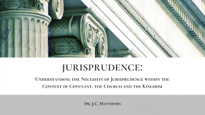 jurisprudence: antinomianism - the original sin