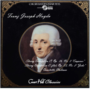 "haydn: string quartets in c major ""emperor"" & in e-flat ""joke"""