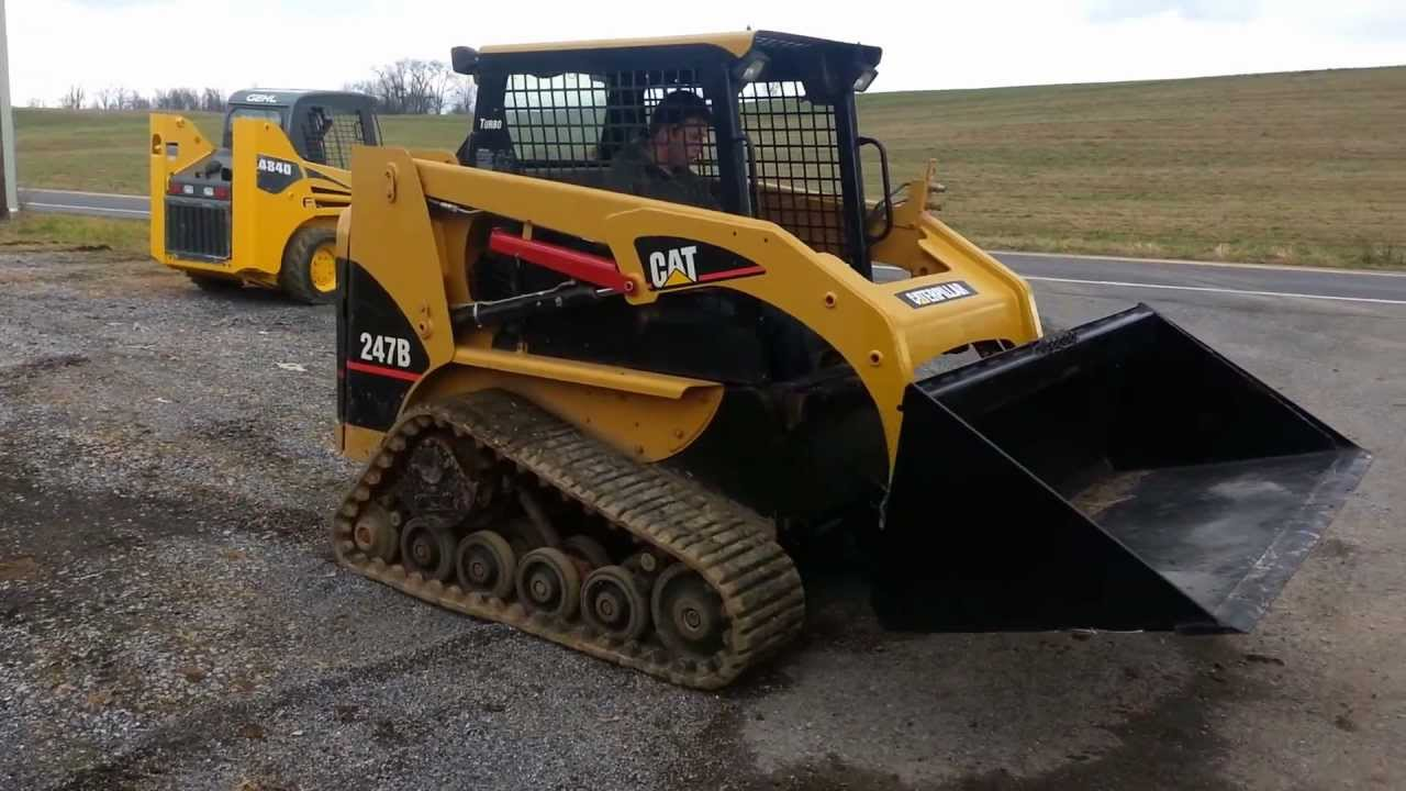 First Additional product image for - Cat 247B Multi Terrain Loader Operation and Maintenance Manual