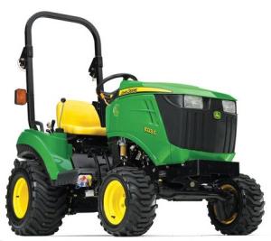 download john deere 1023e & 1026r worldwide compact utility tractors technical service manual (tm109719)