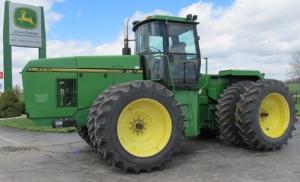 download john deere 8570, 8770,  8870,  8970 4wd articulated tractors technical service repair manual (tm1549)