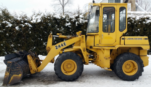 john deere 200 two-row pull-type corn picker operator manual omn7750