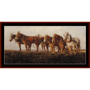 veterans - americana cross stitch pattern by cross stitch collectibles