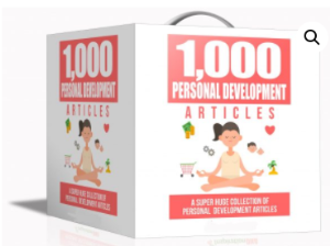 1000 Personal Development Articles Pack | eBooks | Other