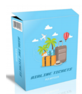 Airline Tickets PLR Articles | eBooks | Education