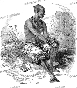 yavogan, governor of ouidah, dahomey, valentin, 1852