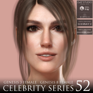 Celebrity Series 52 for Genesis 3 and Genesis 8 Female | Software | Design