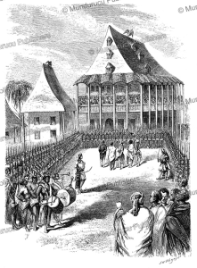 Audience of the Queen at the Palace, Madagascar, Josiah Wood Whymper, 1858   Photos and Images   Travel