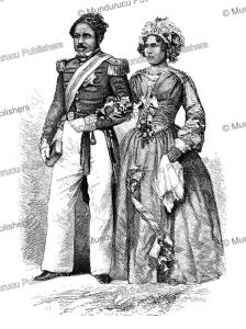 the prince and princess royal of madagascar, josiah wood whymper, 1858