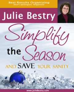 simplify the season & save your sanity