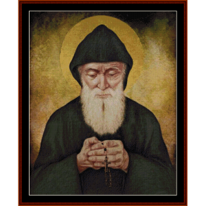 st. cherbel makhlouf custom pattern by cross stitch collectibles
