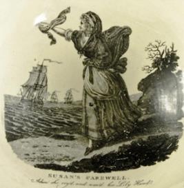Stevens : Black-ey'd Susan : Score, part(s) and cover page | Music | Classical