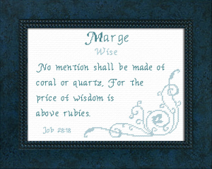 name blessings - marge