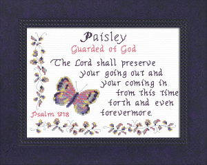 name blessings - paisley