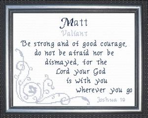 name blessings - matt