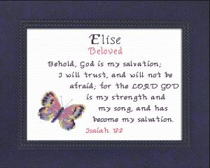 name blessings - elise 3