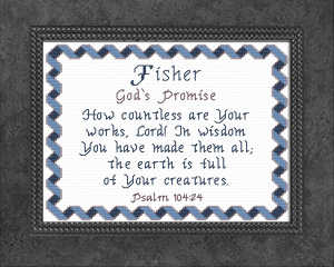 name blessings - fisher