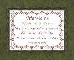 name blessings - madeleine