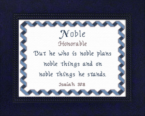 name blessings - noble 2