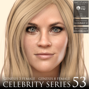 celebrity series 53 for genesis 3 and genesis 8 female