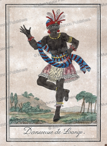 danseuse from loango, congo, labrousse, 1792