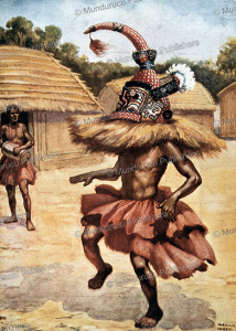 shaman from the lower congo, n.h. hardy, 1907