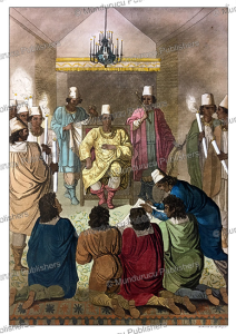 The king of Congo receiving a Dutch delagation, Angelo Biasioli, 1819 | Photos and Images | Travel